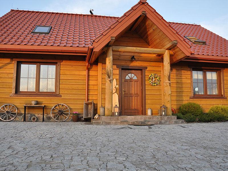 Budynek drewniany